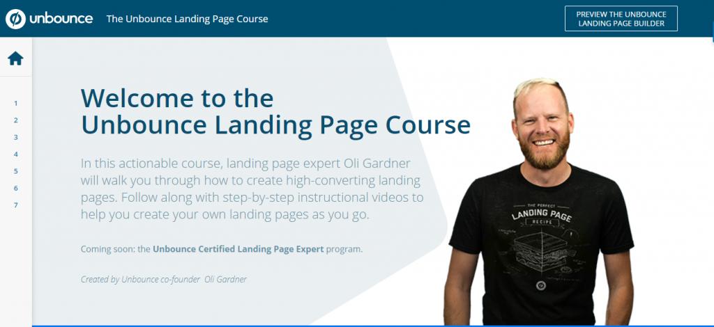 Screenshot: thelandingpagecourse.com