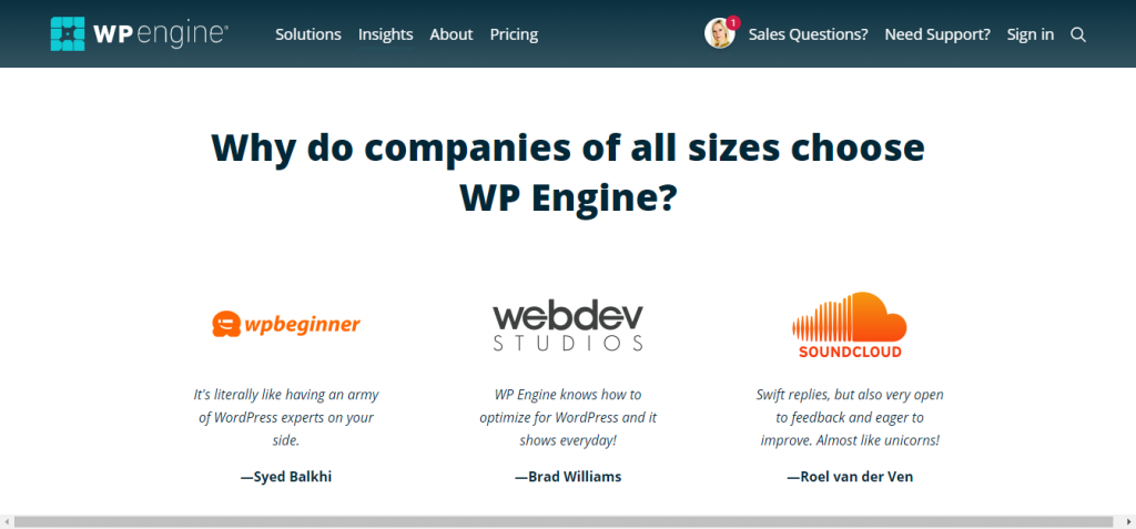 Screenshot: wpengine.com/about-us/